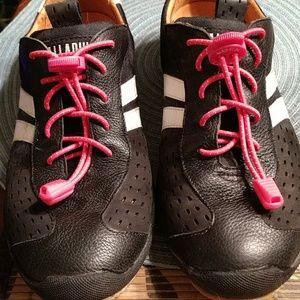 Palladium leather sneakers, track style